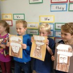 First graders love Leonardo da Vinci.