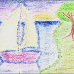 Seurat by a 4th grader.