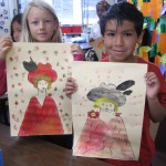 Toulouse-Lautrec by 2nd Graders